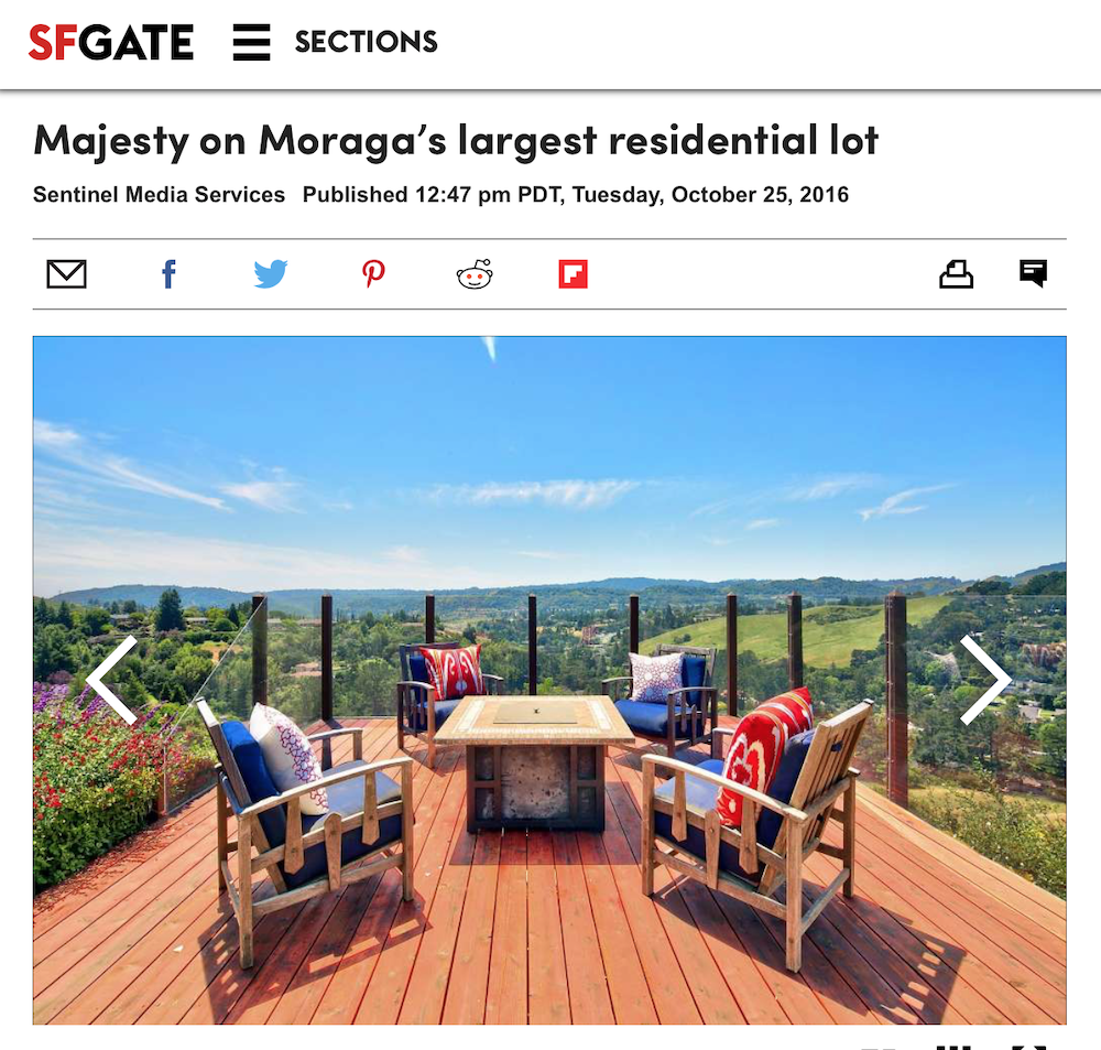 Majesty on Moraga's Largest Residential Lot