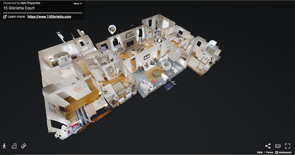Virtual-house-tour-dollhouse-view-Matterport