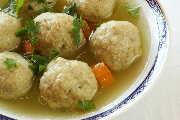 Bubbe's Best Matzoh Ball Soup Recipe | Abio Properties