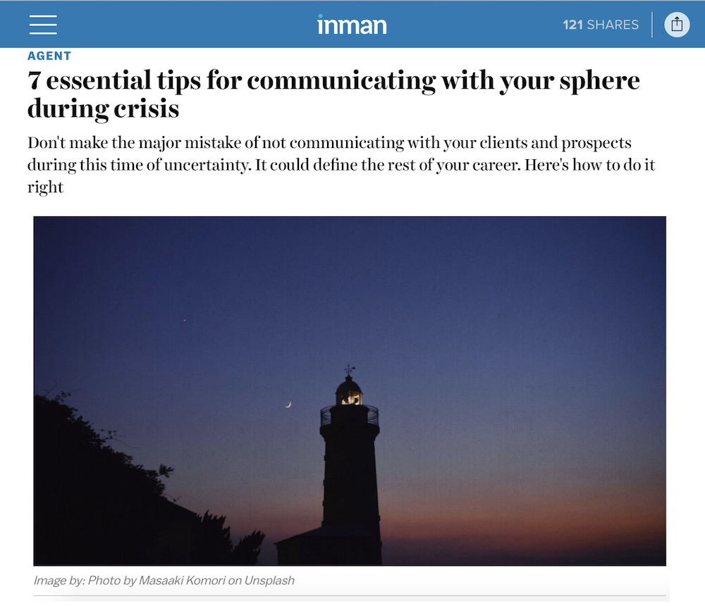 7 essential tips for communicating with your sphere during crisis