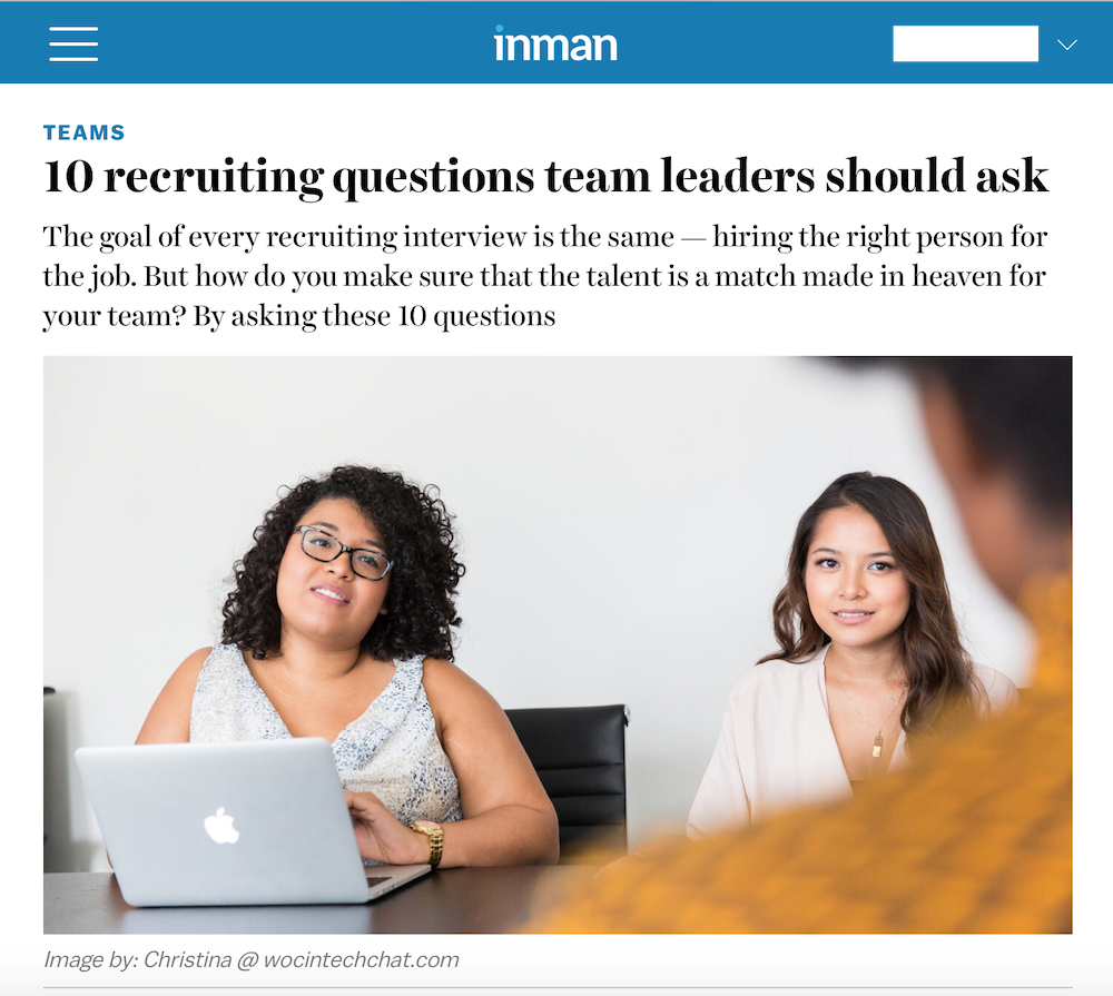 10 Recruiting Questions Team Leaders Should Ask