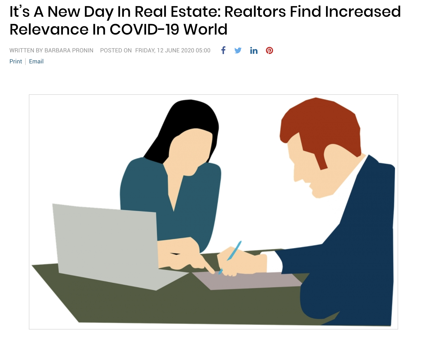 It's A New Day In Real Estate: Realtors Find Increased Relevance In COVID-19 World