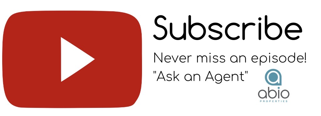 subscribe button for Abio Properties YouTube channel