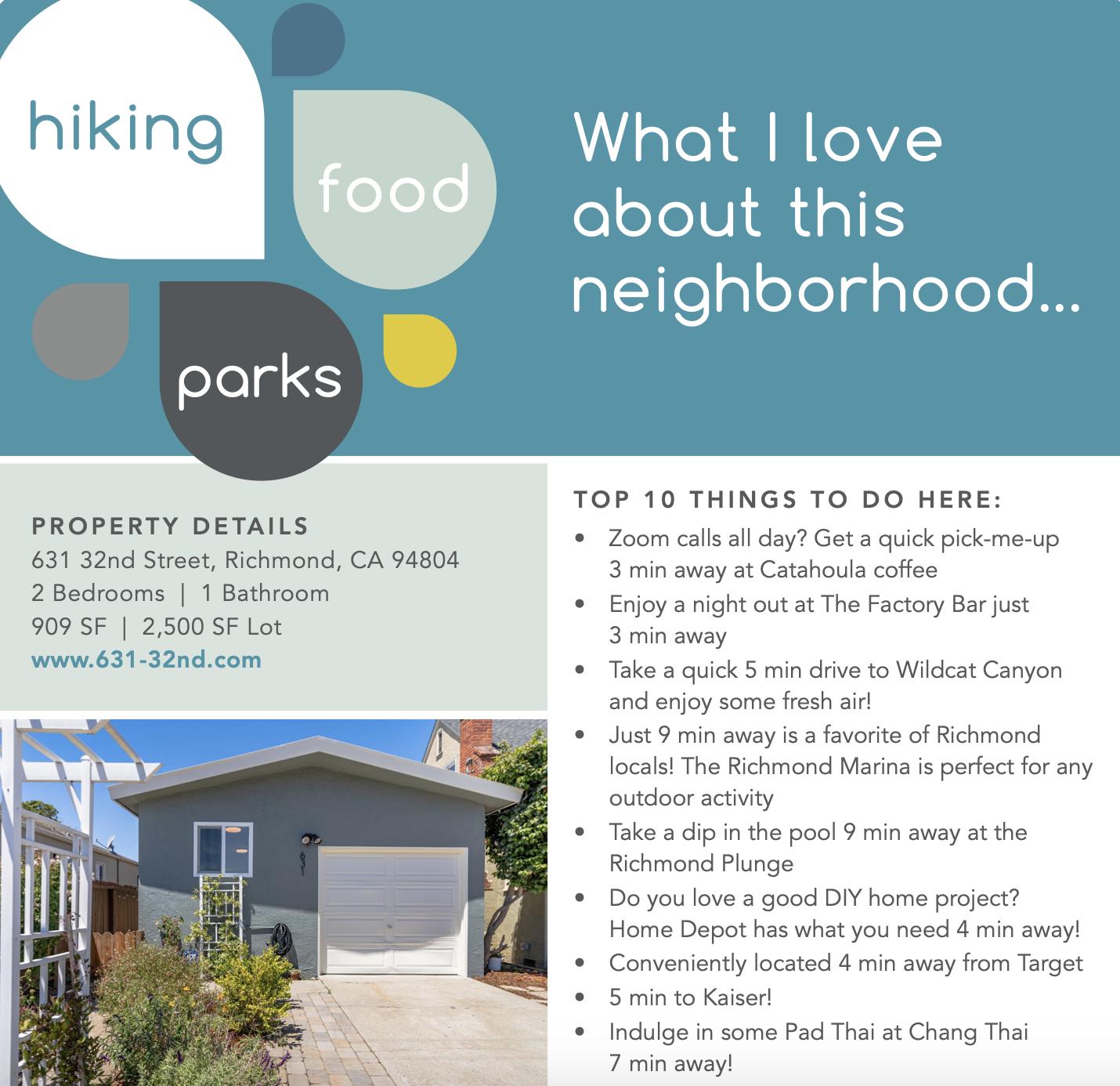 sellers neighborhood guide example