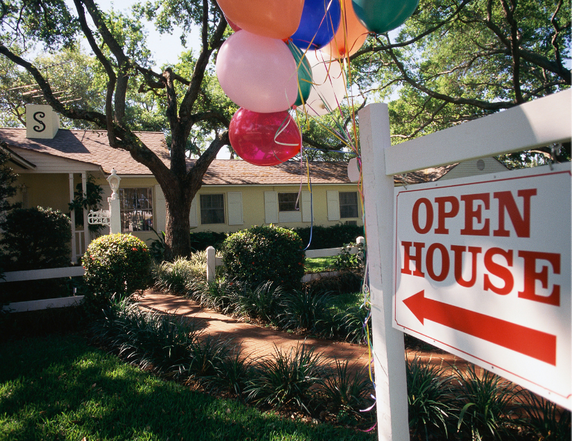 open houses allowed in California